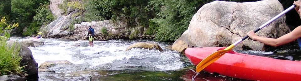 les parcours canoe tarassac, descente canoe orb, location canoe orb